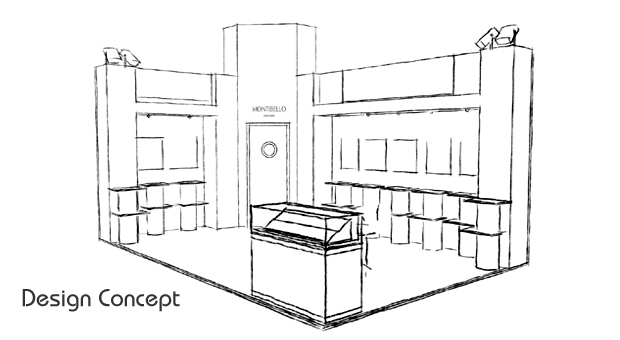 Exhibition Stand Drawing : Kudos exhibitions design