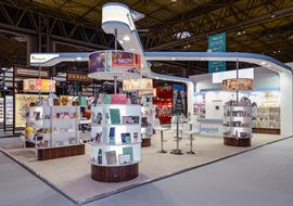 Spring Fair exhibition stand for Blueprint Collections at the NEC