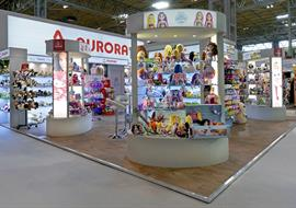 Exhibition Stand built at Toy Fair Olympia