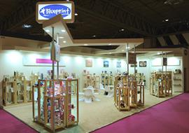 Another exhibition stand at the Spring Fair show