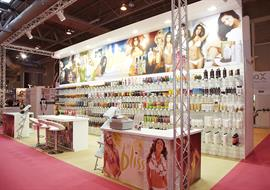 Beauty UK exhibition stand at NEC Birmingham
