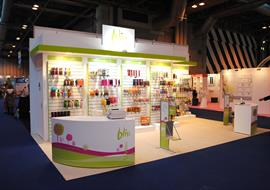 Exhibition Stand built for BLISS at the NEC