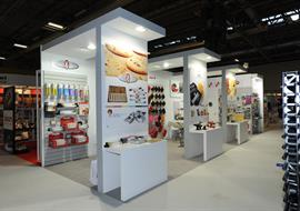 Spring Fair NEC exhibition stand for Falcon Products