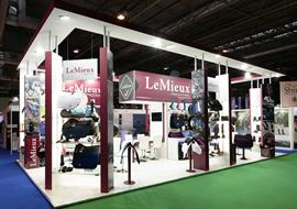 Exhibition stand for Le Mieux at BETA show NEC