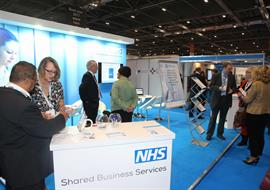 Exhibition Stand built for the NHS