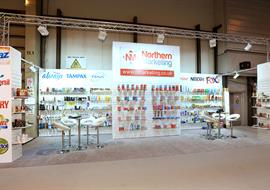 Bulk buyers exhibition stand at NEC