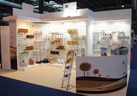 Pro Beauty show exhibition stand for Sunless
