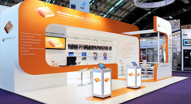 Expo Stands Spaceship : Kudos exhibitions
